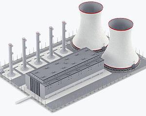 ЖБИ для энергетического строительства